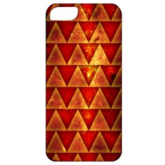 Orange Triangle Tiles Apple iPhone 5 Classic Hardshell Case