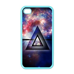 Galaxy Triangle Apple iPhone 4 Case (Color)