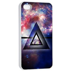 Galaxy Triangle Apple Iphone 4/4s Seamless Case (white)