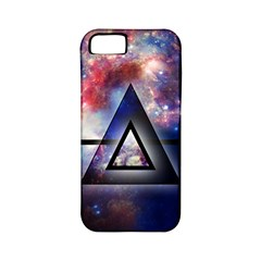 Galaxy Triangle Apple iPhone 5 Classic Hardshell Case (PC+Silicone)