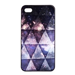 Triangle Tiles Apple Iphone 4/4s Seamless Case (black)