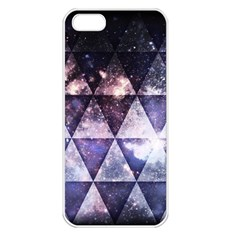 Triangle Tiles Apple iPhone 5 Seamless Case (White)