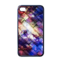 Universe Tiles Apple iPhone 4 Case (Black)