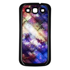 Universe Tiles Samsung Galaxy S3 Back Case (Black)