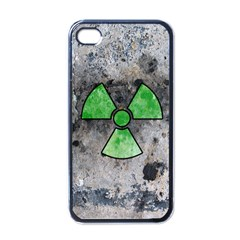 Nuke Warning Apple Iphone 4 Case (black)