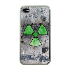 Nuke Warning Apple iPhone 4 Case (Clear)