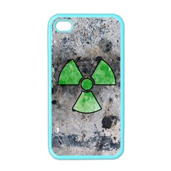 Nuke Warning Apple Iphone 4 Case (color)