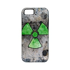Nuke Warning Apple Iphone 5 Classic Hardshell Case (pc+silicone)