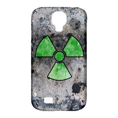 Nuke Warning Samsung Galaxy S4 Classic Hardshell Case (PC+Silicone)