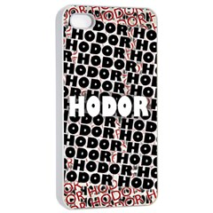 Hodor Apple Iphone 4/4s Seamless Case (white)