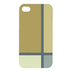Minimalist Art Apple iPhone 4/4S Premium Hardshell Case