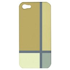 Minimalist Art Apple Iphone 5 Hardshell Case