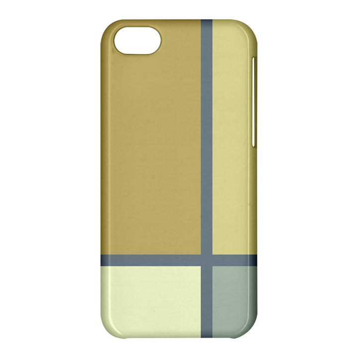Minimalist Art Apple iPhone 5C Hardshell Case