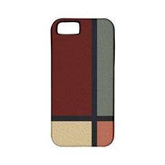 Modern Art Apple iPhone 5 Classic Hardshell Case (PC+Silicone)