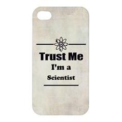 Trust Me I m a Scientist Apple iPhone 4/4S Premium Hardshell Case