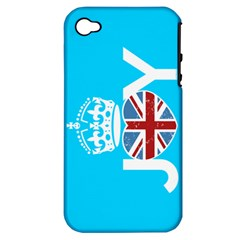 UNIONJOY Apple iPhone 4/4S Hardshell Case (PC+Silicone)