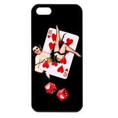 Lady Luck Apple iPhone 5 Seamless Case (Black)