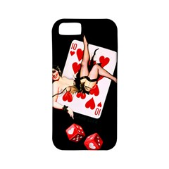 Lady Luck Apple Iphone 5 Classic Hardshell Case (pc+silicone)