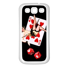Lady Luck Samsung Galaxy S3 Back Case (White)