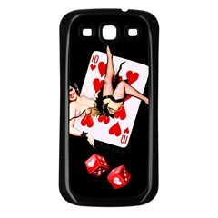 Lady Luck Samsung Galaxy S3 Back Case (Black)