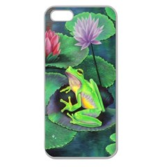 frog Apple Seamless iPhone 5 Case (Clear)