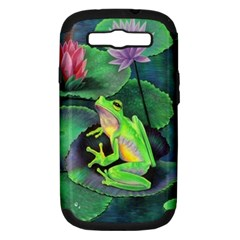 Frog Samsung Galaxy S Iii Hardshell Case (pc+silicone)
