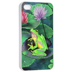 frog Apple iPhone 4/4s Seamless Case (White)