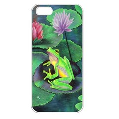frog Apple iPhone 5 Seamless Case (White)