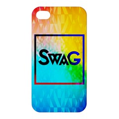 Swag (Color) Apple iPhone 4/4S Premium Hardshell Case