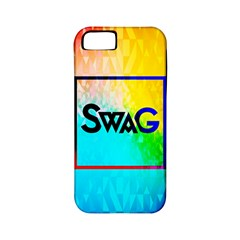 Swag (Color) Apple iPhone 5 Classic Hardshell Case (PC+Silicone)