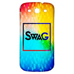 Swag (Color) Samsung Galaxy S3 S III Classic Hardshell Back Case