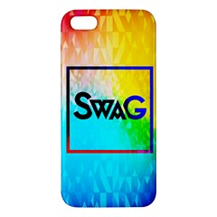 Swag (Color) iPhone 5 Premium Hardshell Case