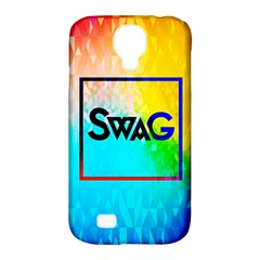 Swag (color) Samsung Galaxy S4 Classic Hardshell Case (pc+silicone)