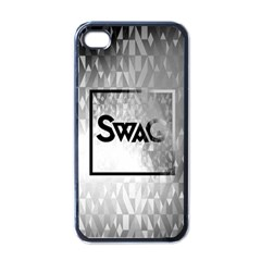 Swag (B&W) Apple iPhone 4 Case (Black)