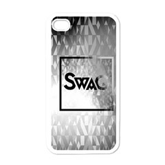 Swag (b&w) Apple Iphone 4 Case (white)