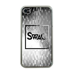 Swag (b&w) Apple Iphone 4 Case (clear)