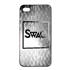 Swag (b&w) Apple Iphone 4/4s Seamless Case (black)