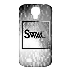Swag (B&W) Samsung Galaxy S4 Classic Hardshell Case (PC+Silicone)