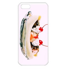 Banana Split Apple Iphone 5 Seamless Case (white)
