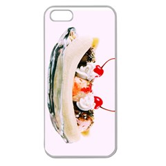Banana Split Apple Seamless iPhone 5 Case (Clear)