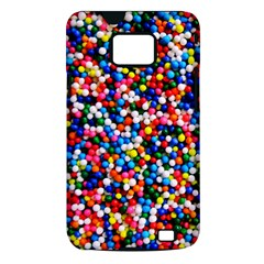 Sprinkles Samsung Galaxy S II Hardshell Case (PC+Silicone)