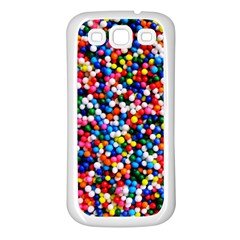 Sprinkles Samsung Galaxy S3 Back Case (White)