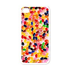 Jelly Beans Apple Iphone 4 Case (white)
