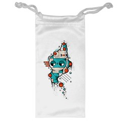 Muscle cat Jewelry Bag