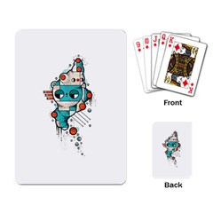 Muscle cat Playing Cards Single Design