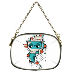 Muscle cat Chain Purse (Two Sided)