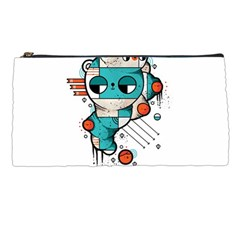 Muscle cat Pencil Case