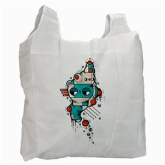 Muscle Cat Recycle Bag (two Sides)
