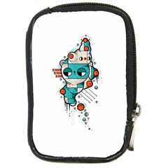 Muscle cat Compact Camera Leather Case