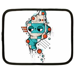 Muscle cat Netbook Sleeve (XXL)